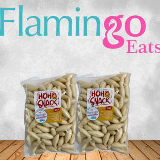 Flamingo Travel - Fish crackers (rugby shape)