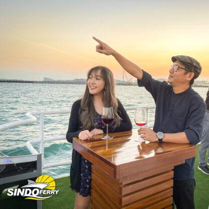Sindo Ferry - Marina Coastal Delights Open Deck Sunset