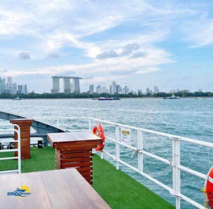 Sindo Ferry - Marina Coastal Delights - Open Deck